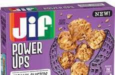 Peanut-Packed Kids Snacks - Jif's Power Ups Introduce New Peanut Snacks for Kids