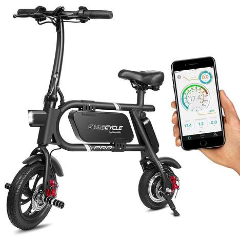 Folding Last-Mile Electric Bikes