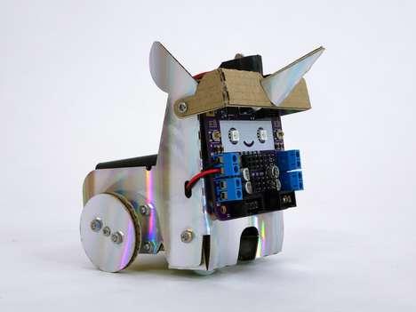 AI-Powered Cardboard Robots