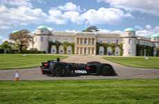 Autonomous Hill Climbs - Robocar is an Autonomous Vehicle Taking on the Goodwood Hill Climb