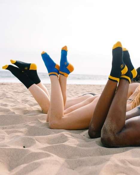 Washi Paper-Made Socks