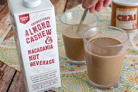Multi-Nut Milk Beverages