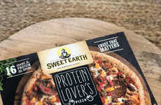 Plant-Based Protein Pizzas - Sweet Earth Foods' Plant-Based Pizza Line is Packed with Nourishment
