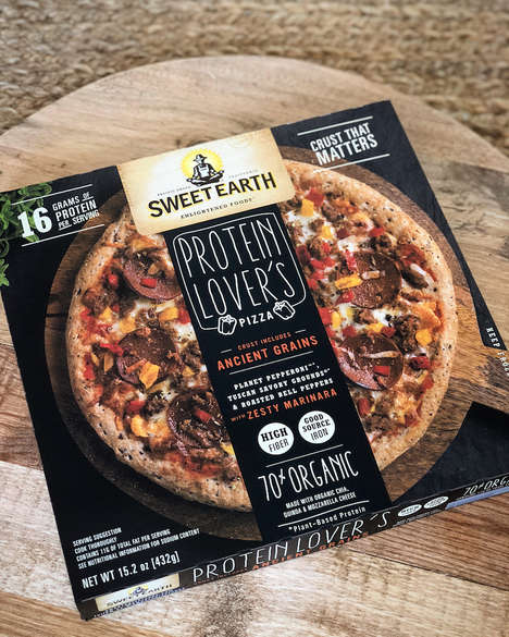 Plant-Based Protein Pizzas