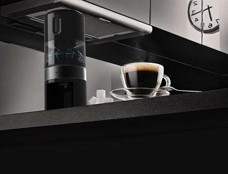 Tubular Coffee Kitchen Appliances