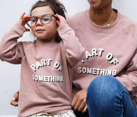 Gender-Neutral Awareness Sweaters - Claude & Co's Slogan Sweaters Donate to Meningitis Research