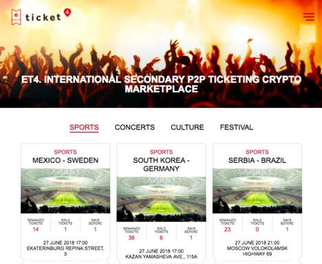 Blockchain Ticket Platforms