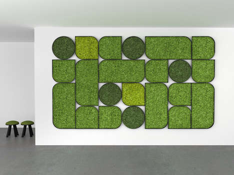 Nature-Inspired Noise-Cancelling Solutions - Cory Grosser's Wall Design Enables a Quiet Workspace