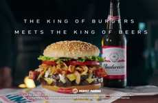 Brewhouse-Approved Burgers - The Burger King American Brewhouse King Burger is Indulgent