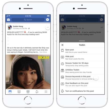 Word-Censoring Social Media Functions