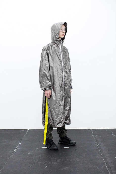 Futuristic Technical Clothing Pieces