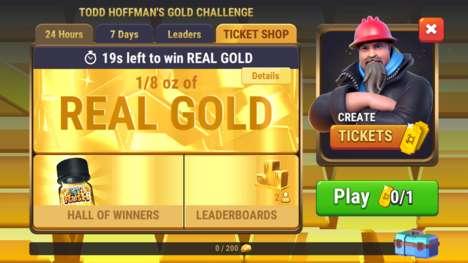 Gold-Awarding Gaming Apps