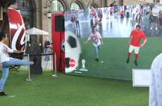 AR Soccer Challenges - Coca-Cola Challenged People to Go Head-to-Head with a Virtual Sports Star