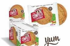 Pie-Flavored Protein Cookies