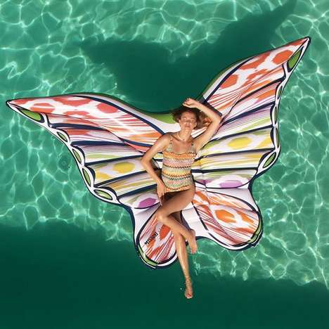 The Butterfly Pool Float is an Instagramable Summer Accessory