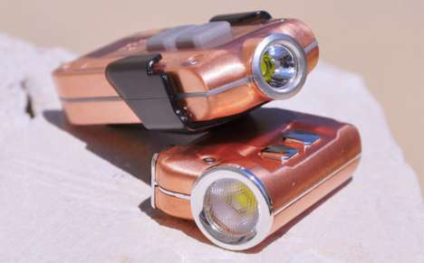 Compact Copper Flashlights