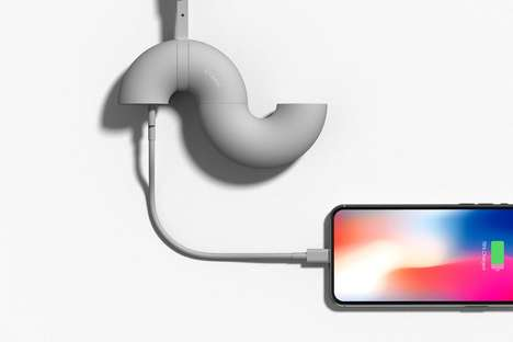 Twisting Donut-Shaped Chargers