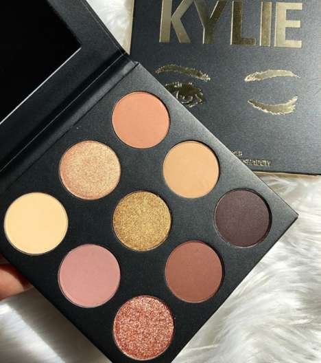 Earthy Eye Shadow Palettes - The Sorta Sweet Palette Arrives with Matching Lipsticks