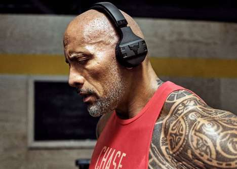 Actor-Approved Workout Headphones - The UA Sport Wireless Project Rock Headphones are Durable