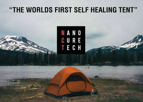 Self-Healing Camping Tents