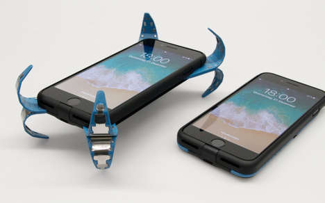 Airbag-Inspired Phone Cases - The AD Case Deploys Springs to Ensure Smartphone Safety