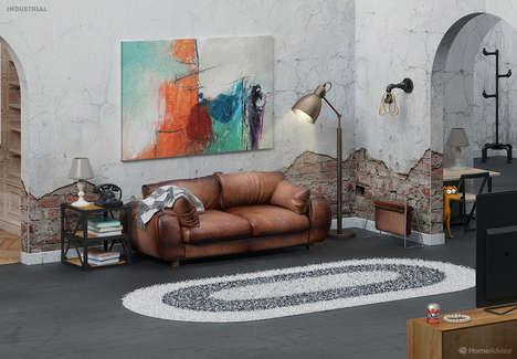 Cartoon-Inspired Living Rooms