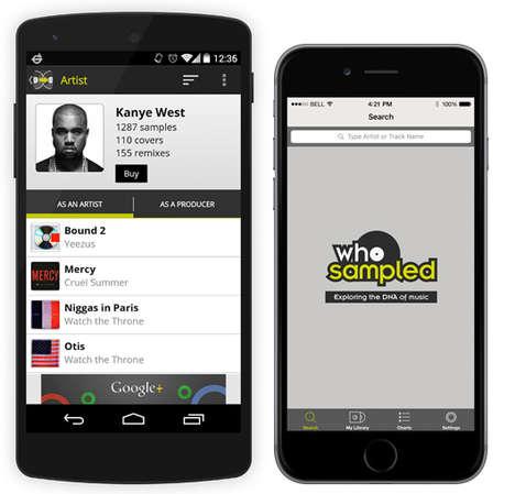 Sample-Identifying Music Apps