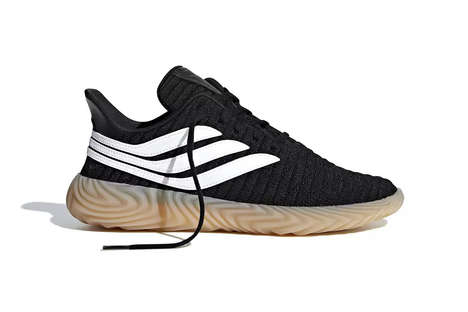 Soccer-Inspired Knit Sneakers