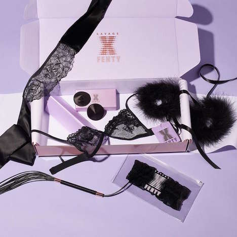 Pleasurable Designer Accessories - SavageXFenty Launches a New Collection of BDSM Accessories