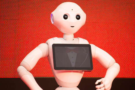 "Bank Bot Greeters - HSBC employs Softbank Robotics' ""Pepper"""