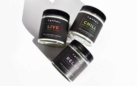 CBD Massage Candles