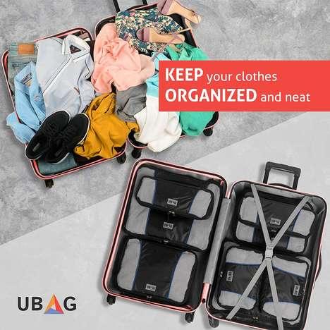 Cubic Compression Suitcase Organizers