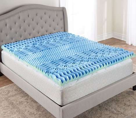Pressure-Alleviating Mattress Toppers