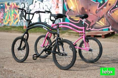 Twin Steering Bicycles