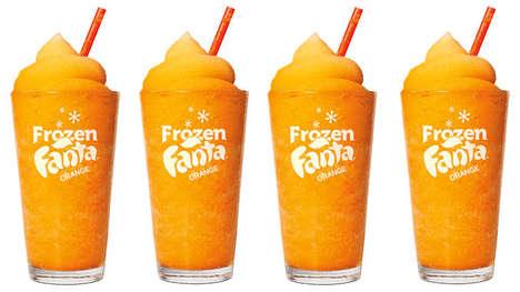 Frozen Orange Beverages