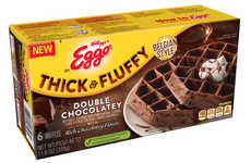 Thick Belgium-Style Waffles - Eggos Introduced a Double Chocolatey Flavor to Its Thick & Fluffy Line