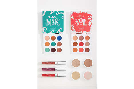 Dual-Themed Summer Cosmetic Palettes
