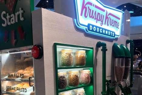 DIY Donut Kiosks