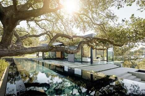Luxe Hidden Hillside Homes