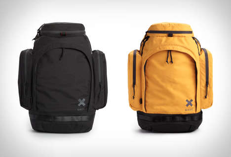 Rugged Twill-Lined Backpacks