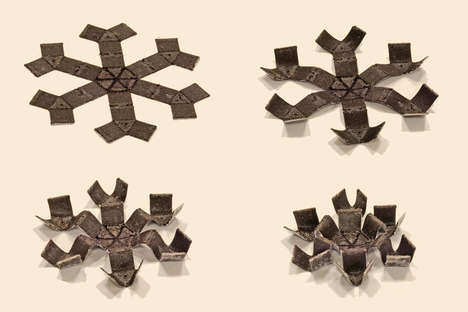 Digitally Printed Magnetic Shape-Shifters - MIT Develops Objects That Respond to Magnetic Stimuli