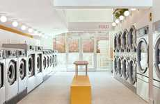 Convenient Cafe-Style Laundromats