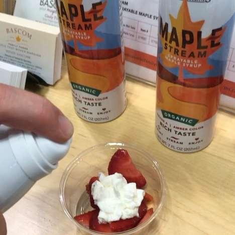 Maple Syrup Sprays