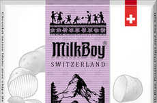 Chip-Filled White Chocolates - MilkBoy's White Chocolate Bar Combines Blue Potato Chips & Sea Salt
