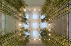Bamboo-Detailed Green Retail Spaces