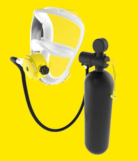 Emergency Fire Breathing Masks