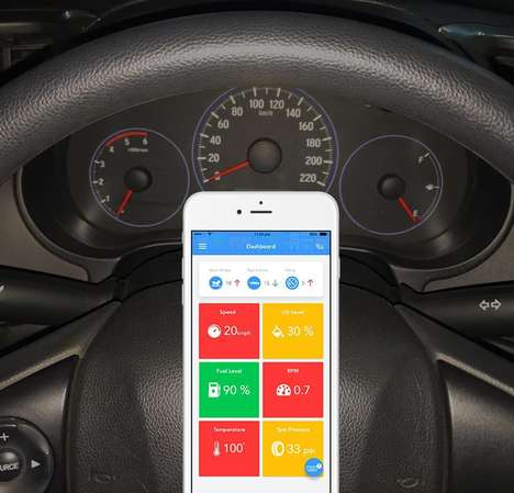 Usage-Tracking Car Accessories
