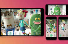 Whimsical AR Cancer Characters - The Imaginary Friend Society App Demystifies Cancer Treatment