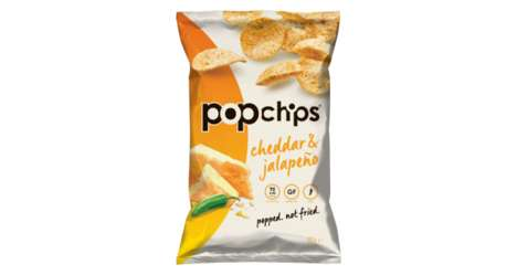 Spicy Popped Chip Snacks