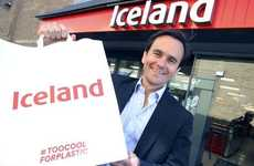 Plastic-Free Grocery Bags - Iceland is Aiming to Reduce Plastic Waste with Paper Grocery Bags